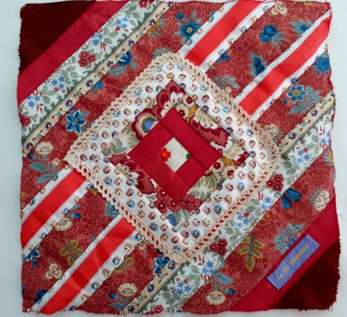 patchwork, patchwork solidaire, quiltmania,