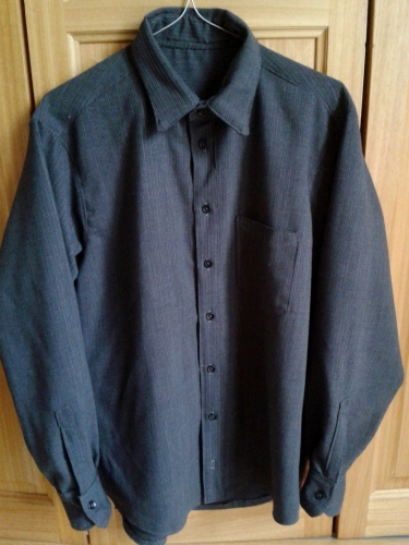chemise homme, couture